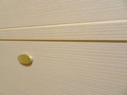 大阪泉州桐箪笥の総桐小袖たんすの引出しの隙間