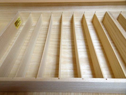 大阪泉州桐箪笥の総桐小袖たんすの引出しの仕切り板
