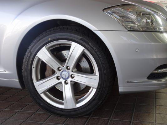 今月のこだわりのお車 メルセデス・ベンツ blueefficiency S400 ホイール