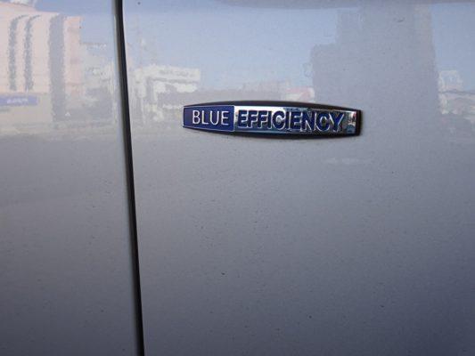 こだわりのお車シリーズ ベンツblueefficiency のマーク
