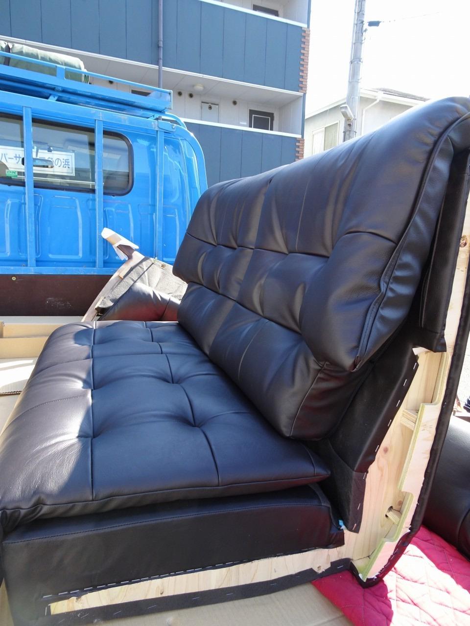 貝塚市のE様に カリモク家具 ソファー ZU4912K353 をお届けいたし ...