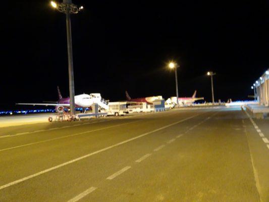ピーチ(PEACH) 関西国際空港駐機場