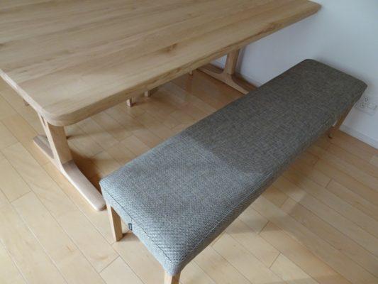 カリモク 品番:ダイニングテーブル DU5810ME ベンチ CU0357E559