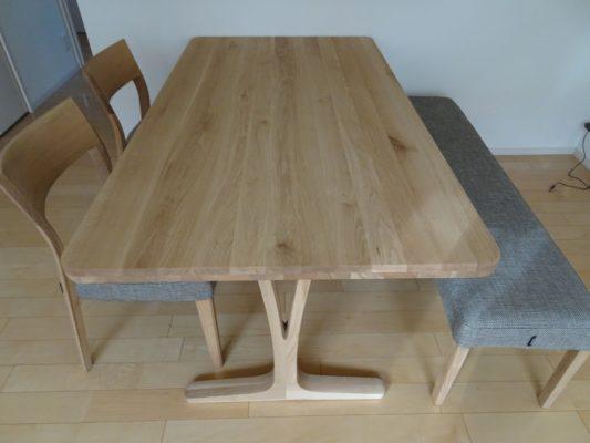 カリモク 品番:ダイニングテーブル DU5810ME ダイニングチェアー CU6105E559 ベンチ CU0357E559