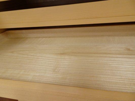 大阪泉州桐箪笥天地丸14杯お盆いり二つ重ね衣装箪笥のお盆3