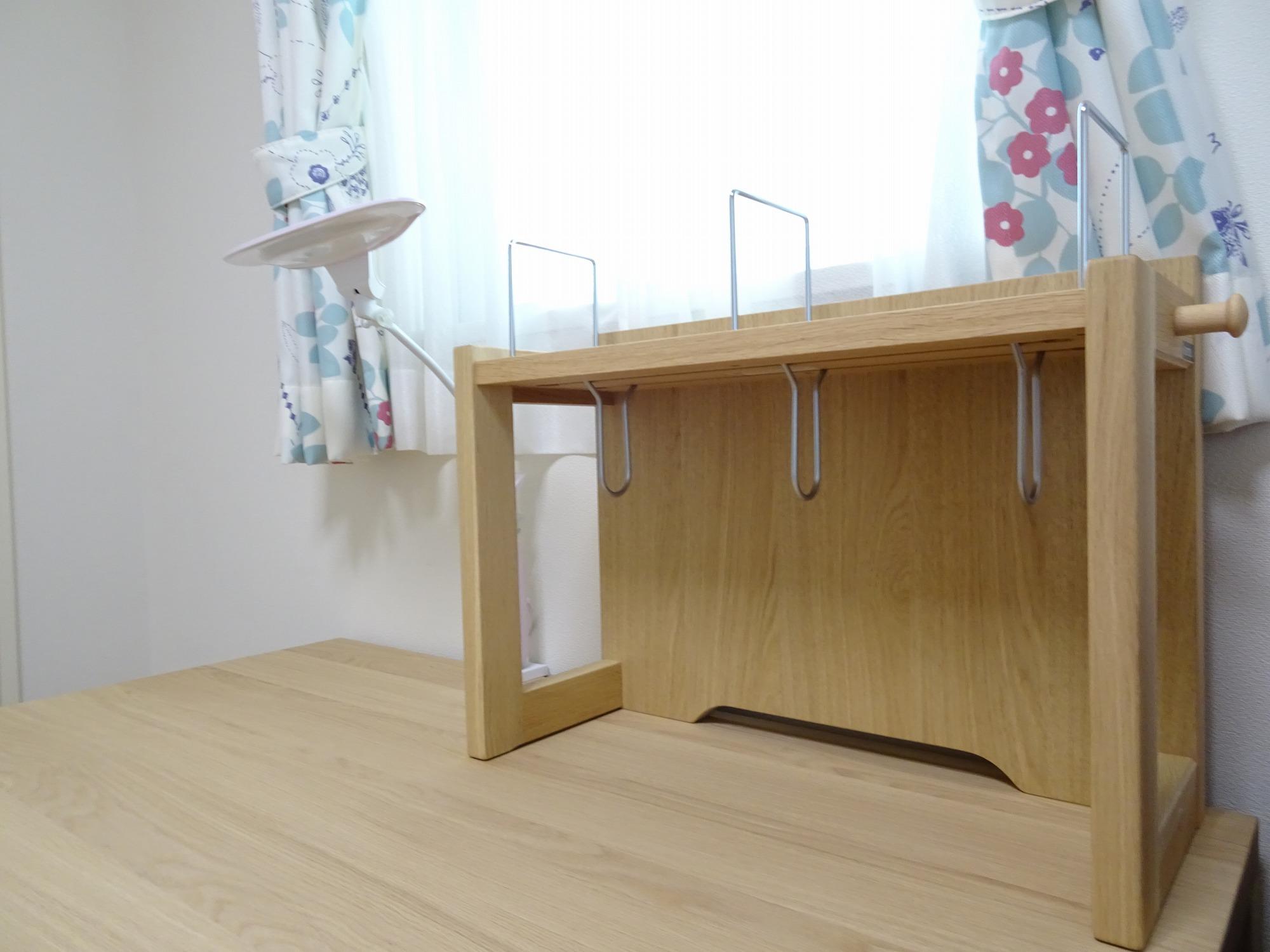 カリモク家具品番 デスク:ST3578ME 本棚:AT0571ME デスクライト:KS0156AA
