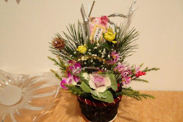 お正月のお花の写真