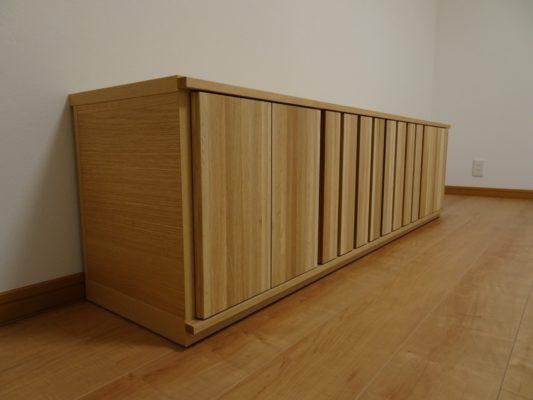 貝塚市の川﨑様にカリモク家具 テレビボード セルタス 別注品をお届けいたしました。