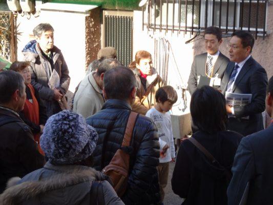 岸和田ブランド工場見学ツアー大阪泉州桐箪笥 初音の桐たんすの見学