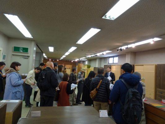 岸和田ブランド工場見学ツアー いい桐タンスの見極め方 講習