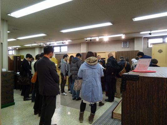 岸和田ブランド工房見学ツアー いい桐箪笥の見極め方 為になる研修会