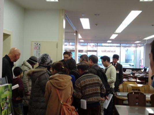 岸和田ブランド工房見学ツアー いい桐箪笥の見極め方勉強になる研修会写真