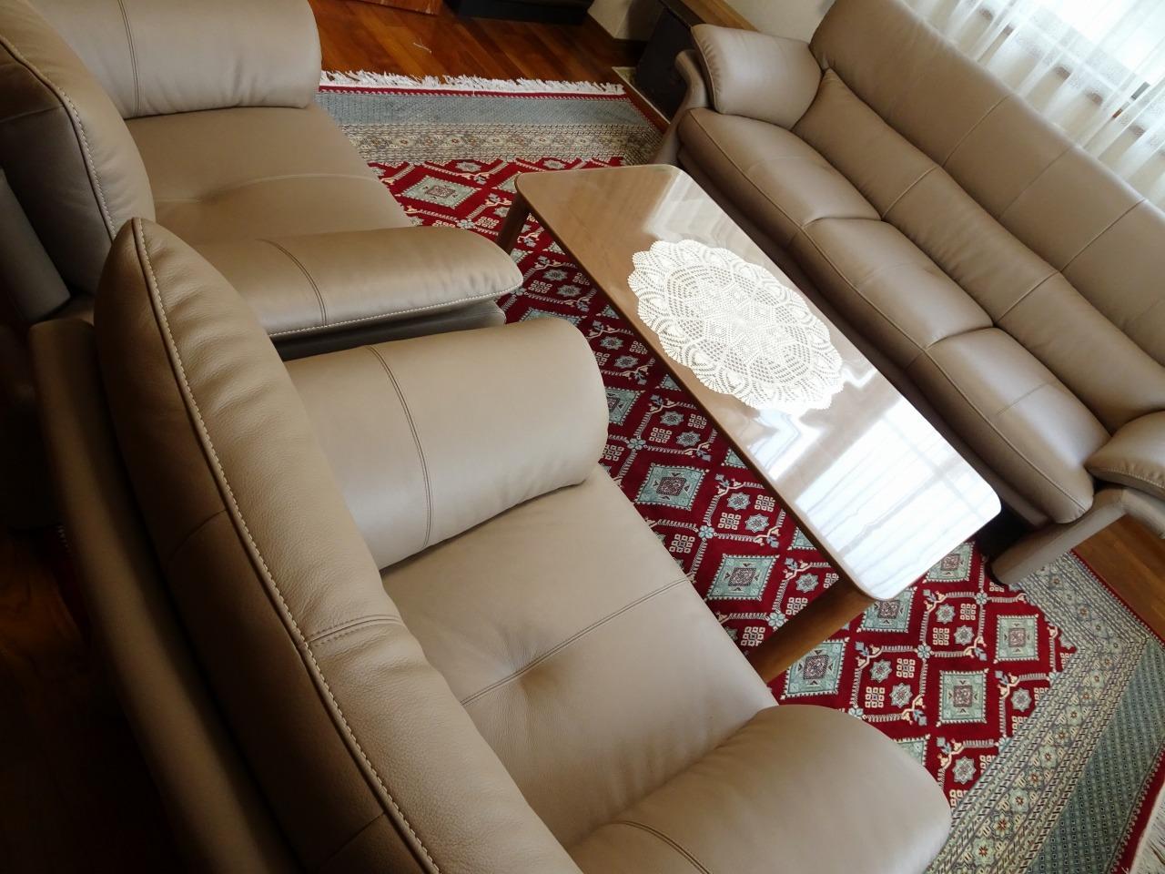 カリモク品番:一人掛けソファー ZU3400X034、長椅子ソファー ZU3403X034