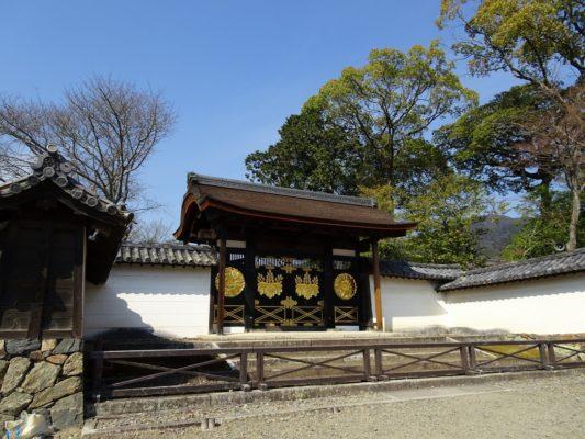 醍醐寺 三宝院の唐門