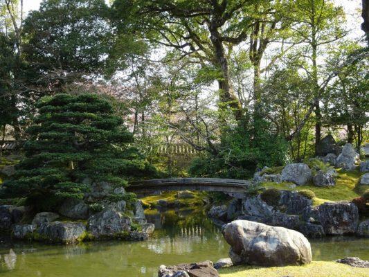 醍醐寺の三宝院の庭園4