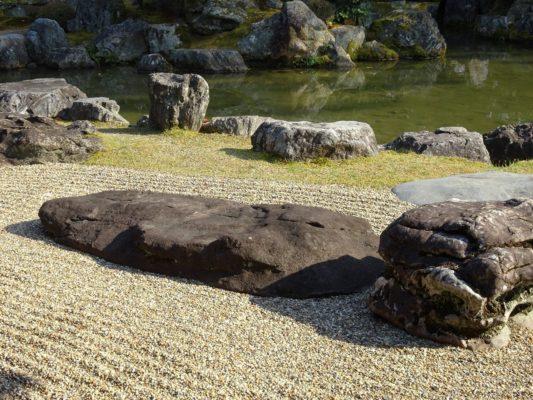 醍醐寺の三宝院の庭園の写真