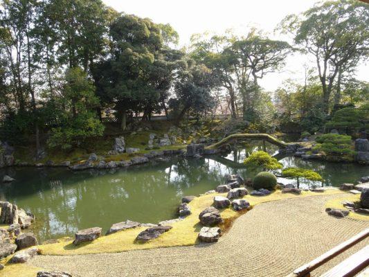 京都 醍醐寺の三宝院の庭園