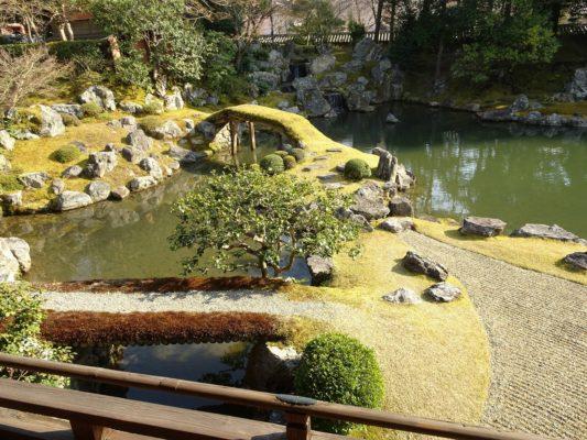 京都 醍醐寺の三宝院の庭園2