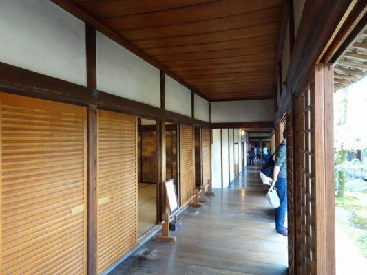 京都 醍醐寺の三宝院の廊下