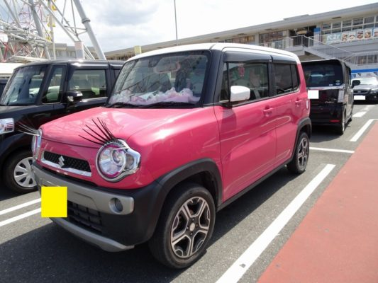 こだわりの桐たんす社長ブログ こんな可愛い車を見つけました。