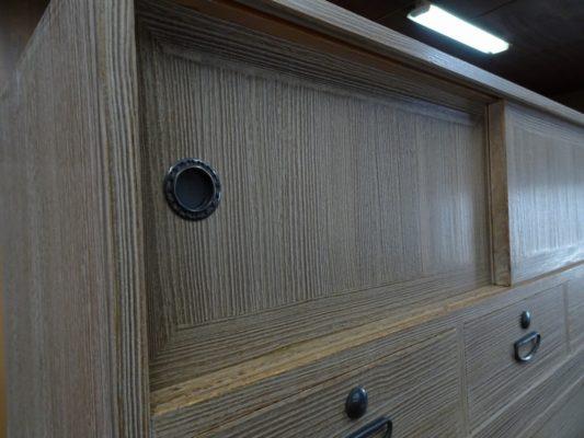 初音の家具 こだわりの桐タンス洗い修理 納品事例