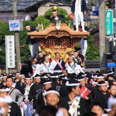 こだわり桐箪笥の社長ブログ 岸和田だんじり祭りがはじまりました。