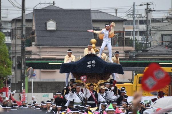 平成29年 旭町 パレードやりまわし
