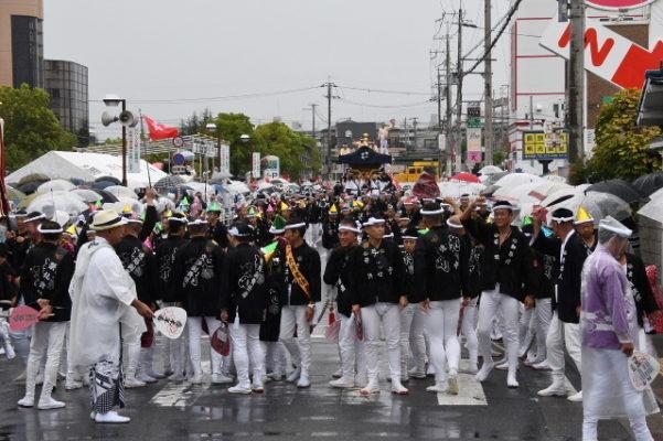 平成29年 旭町 パレード写真