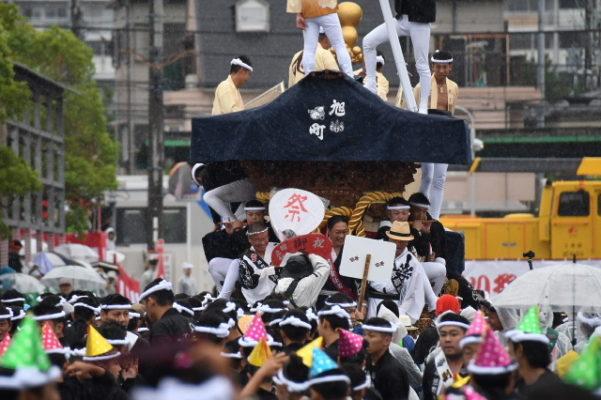平成29年 春木旭町 パレード写真