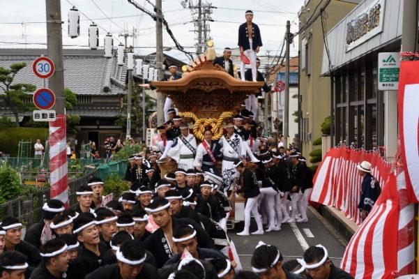 29年 春木旭町 弥栄神社 宮入ブレーキセット