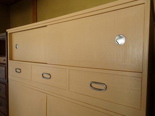 こだわり桐箪笥社長ブログ 110年以上前の松山の桐たんすの洗い修理のご依頼!