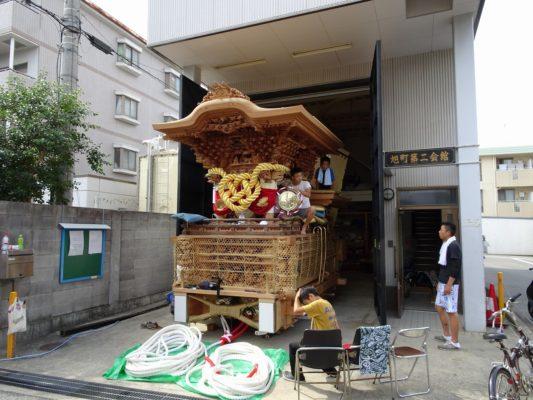 こだわり桐タンスの社長ブログ だんじり祭りまでもう少し来週の今ごろ終わってしまいます。