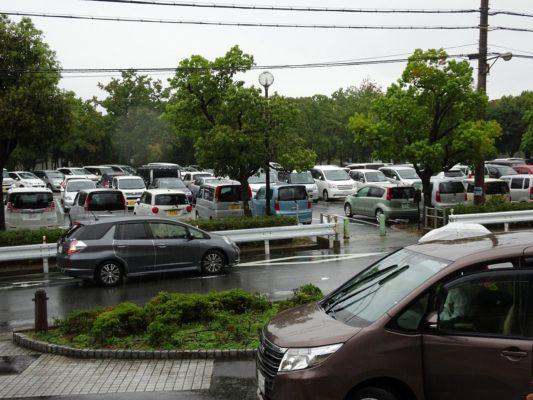 岸和田市総合体育館駐車場