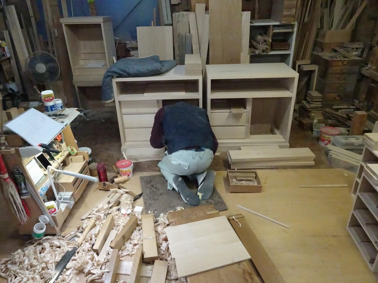 桐たんす屋の社長ブログ 小さな工房だけが作れる日本のこだわりの桐箪笥作り