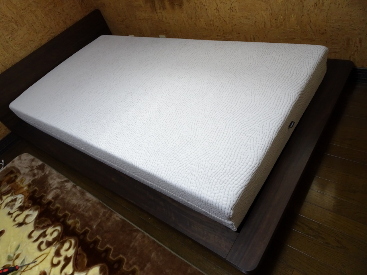 カリモク品番:ベッドフレーム NU71S6XK-U、マットレス NM30SA4HO