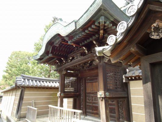 高台寺 勅使門