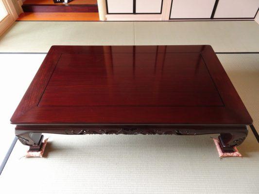 唐木の座敷机