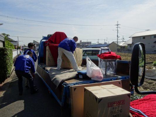 こだわり桐箪笥の社長ブログ 途中ブログ これが大阪泉州地域の婚礼の「お荷だし」です。