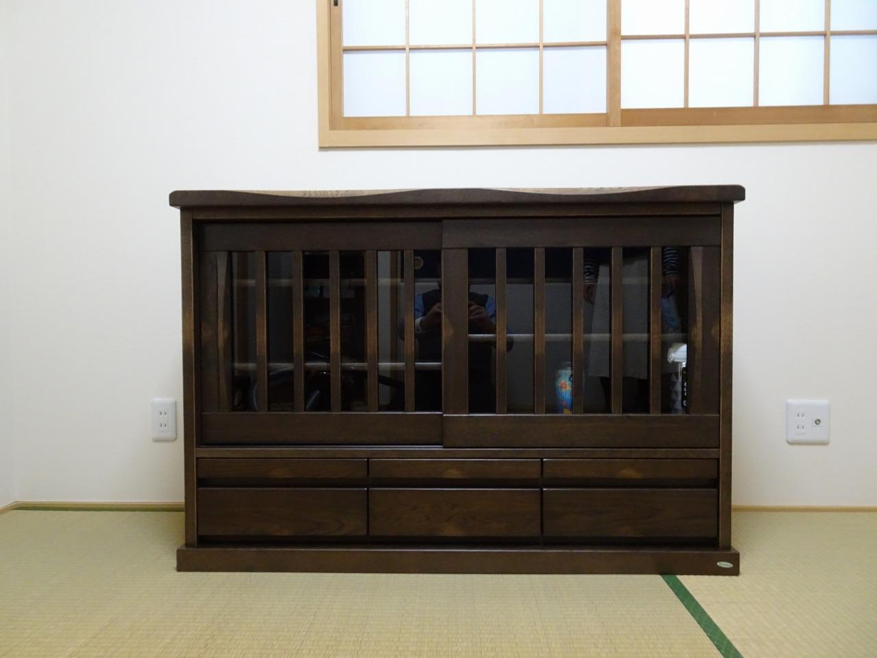 イバタインテリアの木楽のサイドボードをお届けいたしました。