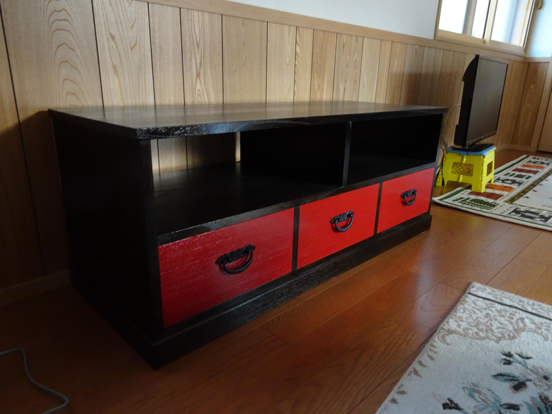 桐のテレビボード