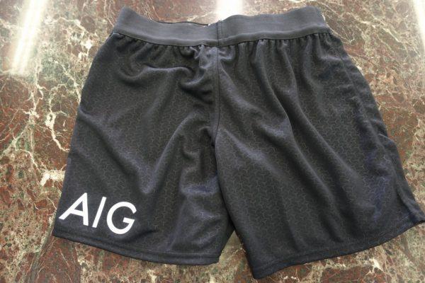 ニュージーランドのオールブラックス AIG ユニフォーム