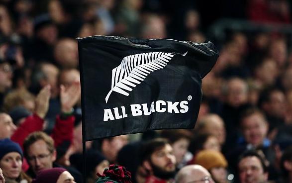 ニュージーランドのオールブラックス の旗