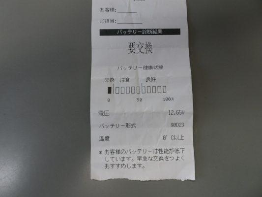 桐箪笥の社長ブログ 寒くなって来ましたね、是非バッテリーのチェックをしてください。