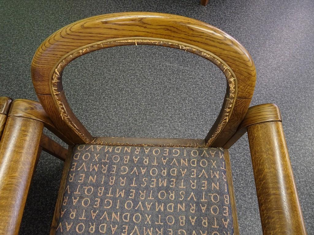 岸和田市の桐箪笥の社長ブログ  先日の家具屋の本音の藤の椅子の修理ができました。