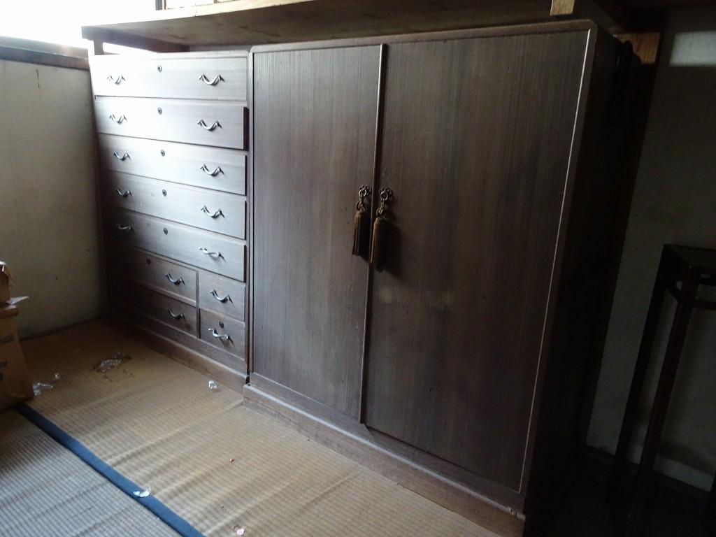 桐箪笥の社長ブログ 古い桐箪笥の洗い、修理 ご依頼いただけて本当によかったです。