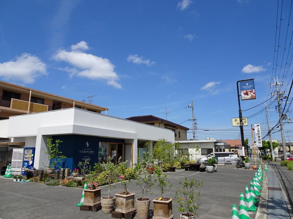 こだわりの桐箪笥の社長ブログ 岸和田市西ノ内町にあるT.YOKOGAWAのお花が綺麗でした。