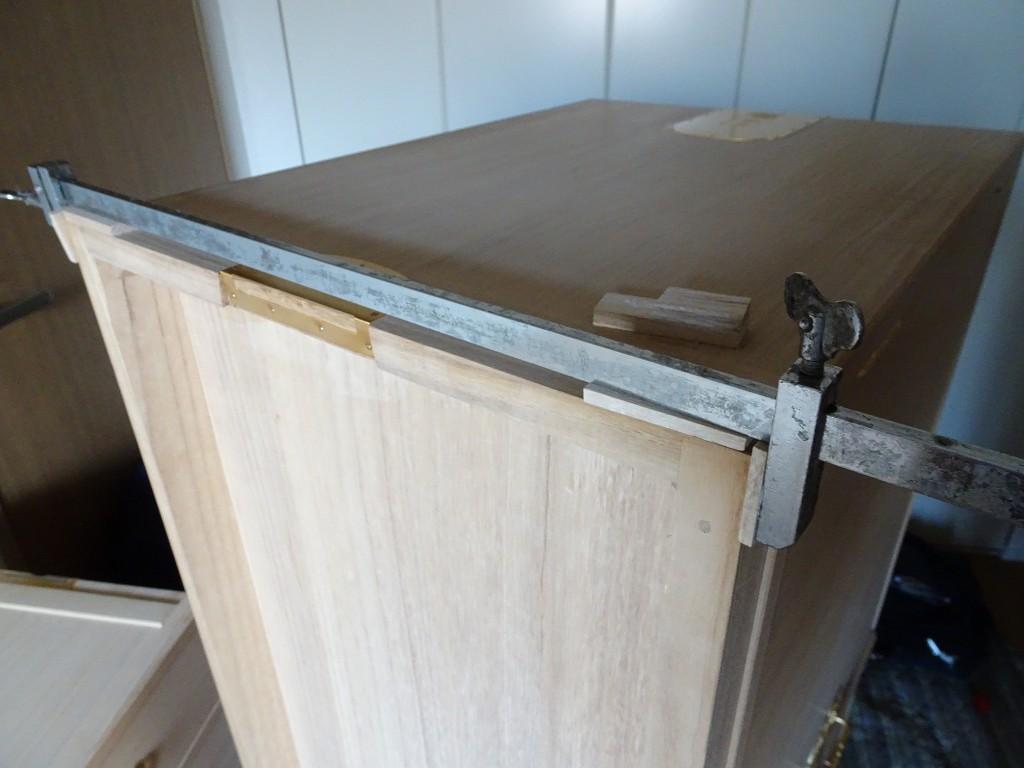 こだわりの桐たんすの社長ブログ 先日の桐たんすの修理についての続編です。