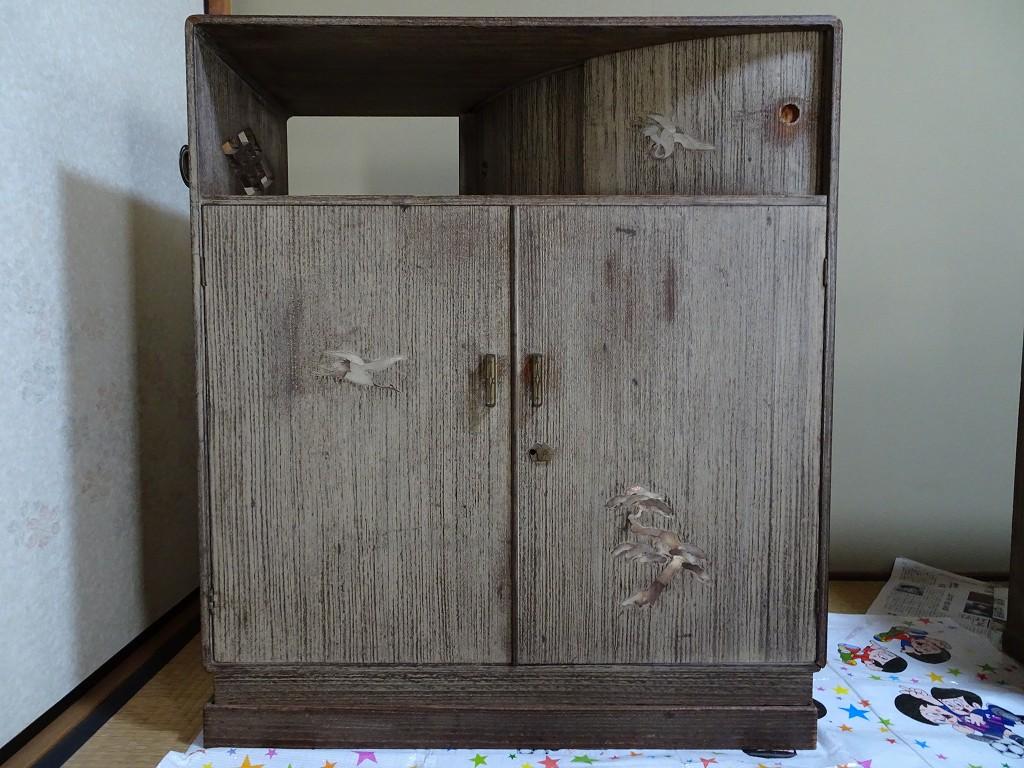 こだわりの桐たんすの社長ブログ 感動しました、本当に古い桐箪笥は日本の宝ものでした。絶対に安易に捨てないでください。